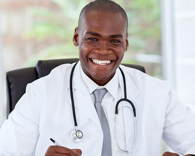 a CNA consultant smiling